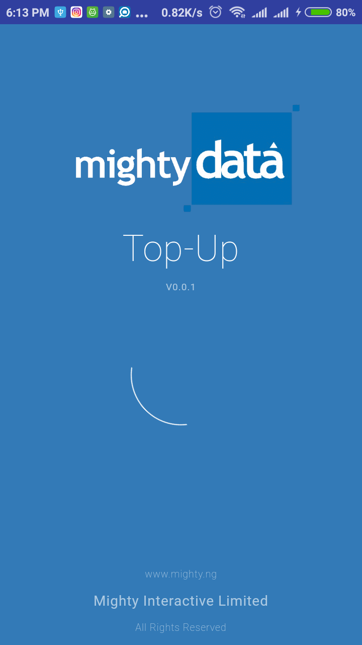 MightyData Top-Up